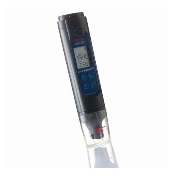 竹村電機製作所:ポケット型 EC・TDS・塩分&温度テスター(センサー交換不可、3点校正) EXPERT CTS