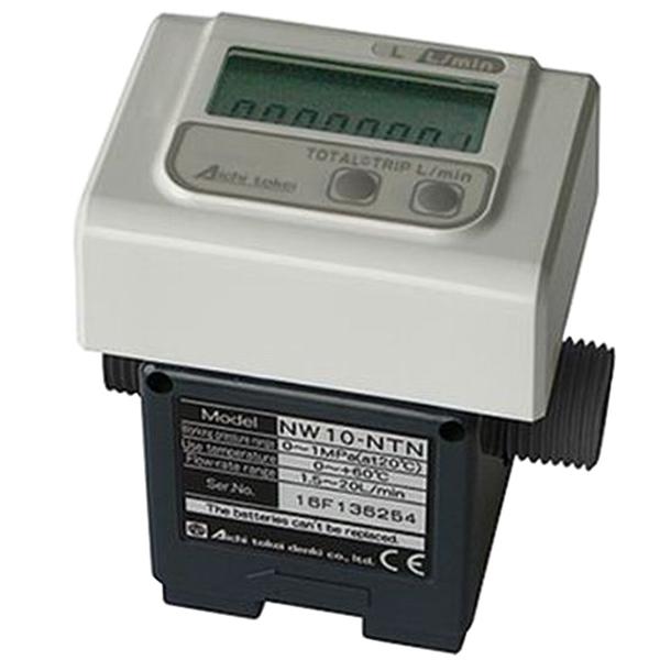 品質満点! 愛知時計電機:ND型流量センサー(瞬時・積算表示) NW10-NTN:イチネンネット-DIY・工具