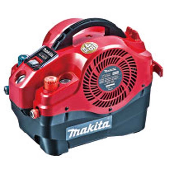 makita(マキタ):内装エアコンプレッサ(赤) AC460SR