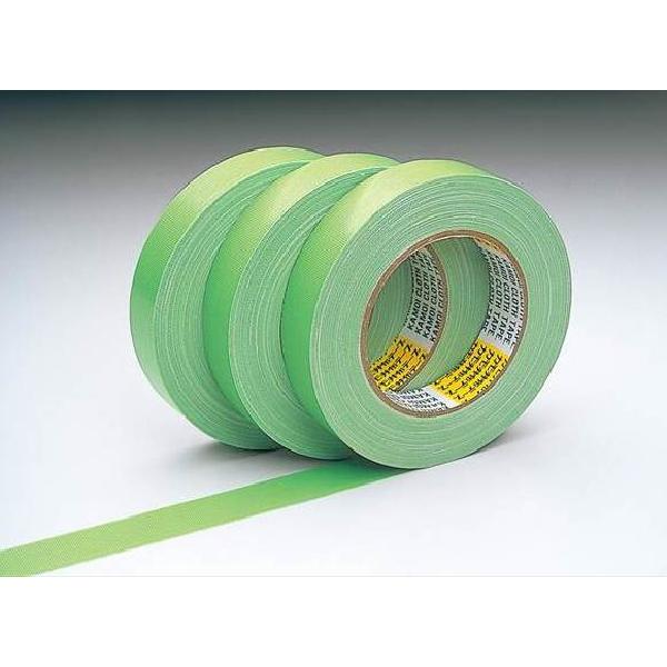 カモ井加工紙:布粘着テープNo.6800 75mm×25m (48個セット)
