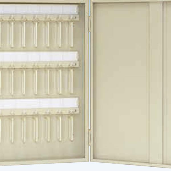 タチバナ製作所:キーボックス Cタイプ携帯・壁掛兼用式 200本掛 アイボリー Ci-200
