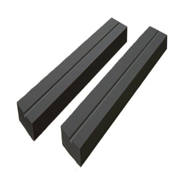 【代引不可】PIT:リフト用ウレタンパッド 厚/80mm幅145mm長さ1400mm×2本 溝有タイプ PSLP-A814