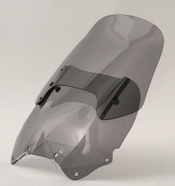 【代引不可】【受注生産品】MRA(エムアールエー):バイク スクリーン ヴァリオ グラデーション付/スライド調整可能 XRV750 AFRICA TWIN(96-00)用 スモーク MV032