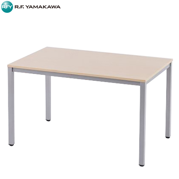 【代引不可】アール・エフ・ヤマカワ:ミーティングテーブルW1200 ナチュラル RFD-1275NTL