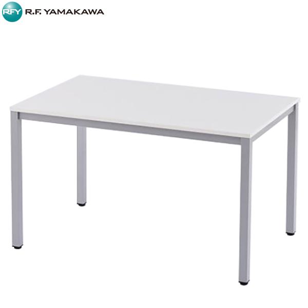 【代引不可】アール・エフ・ヤマカワ:ミーティングテーブルW1200 ホワイト RFD-1275WTL
