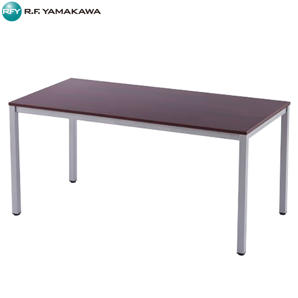 【代引不可】アール・エフ・ヤマカワ:ミーティングテーブルW1500 ダーク RFD-1575DTL