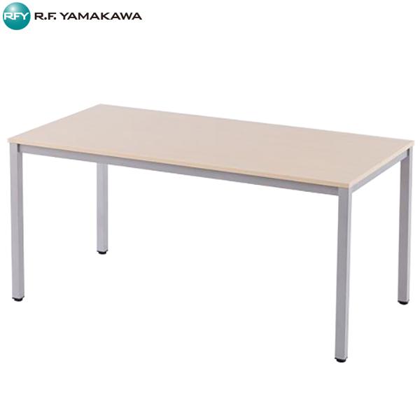 【法人限定】アール・エフ・ヤマカワ:ミーティングテーブルW1500 ナチュラル RFD-1575NTL