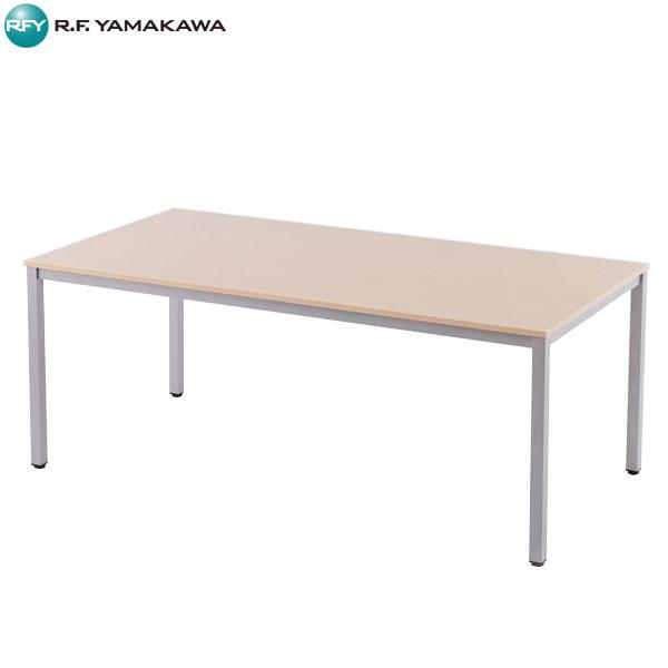 【代引不可】アール・エフ・ヤマカワ:ミーティングテーブルW1800 ナチュラル RFD-1890NTL
