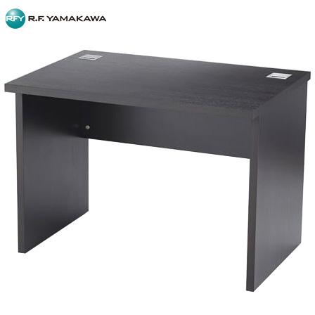 【法人限定】アール・エフ・ヤマカワ:EX木製デスク W1000xD700 ダーク RFEXD-1070DB