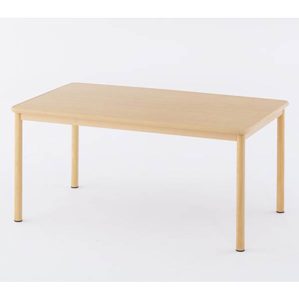 【代引不可】アール・エフ・ヤマカワ:介護用テーブルW1500×D900 ナチュラル RFKTB-1590NA