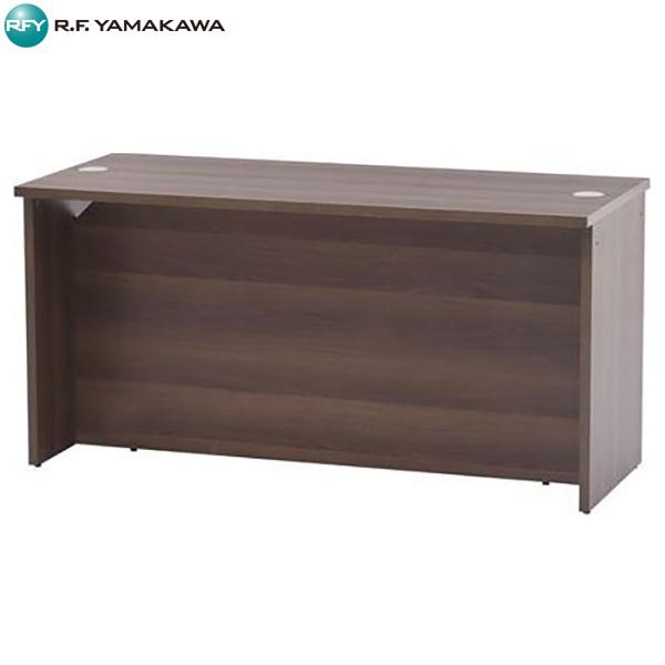 【代引不可】アール・エフ・ヤマカワ:ローカウンター2 W1400xD600 ウォルナット RFLC2-1460DM