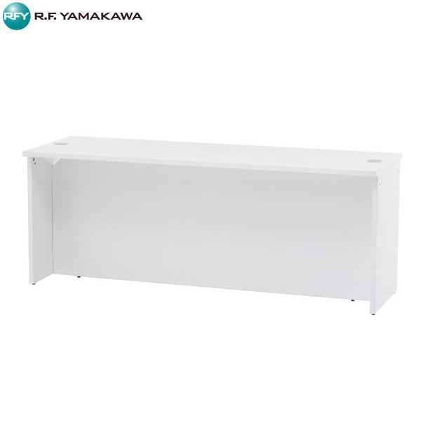 【代引不可】アール・エフ・ヤマカワ:OAローカウンターW1800 ホワイト RFLC2-1860WH
