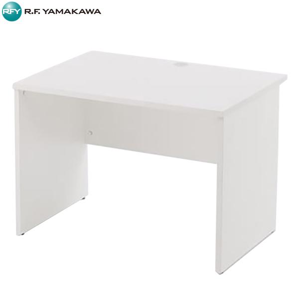 【法人限定】アール・エフ・ヤマカワ:レーニョ 木製デスク2 W1000xD700 ホワイト RFLD-1070WJ2