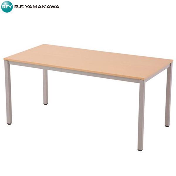 【法人限定】アール・エフ・ヤマカワ:ミーティングテーブル W1500xD750 ナチュラル RFMT-1575NN