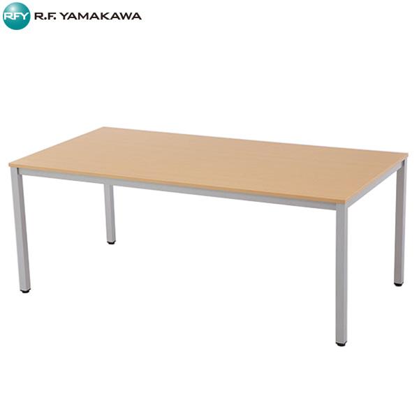 【法人限定】アール・エフ・ヤマカワ:ミーティングテーブル W1800xD900 ナチュラル RFMT-1890NN