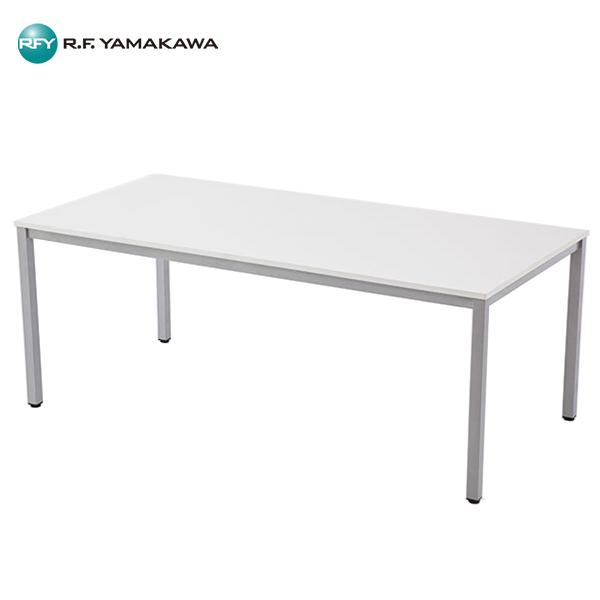 【法人限定】アール・エフ・ヤマカワ:ミーティングテーブル W1800xD900 ホワイト RFMT-1890W