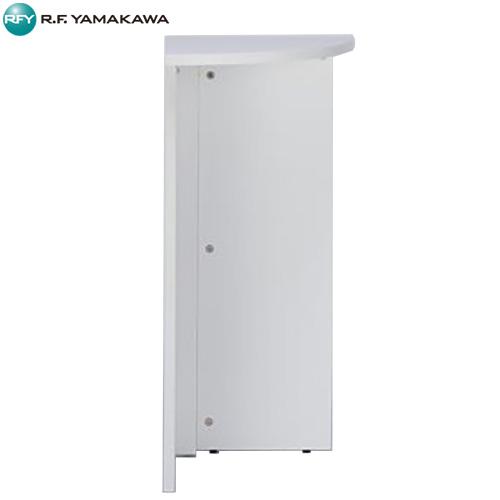 【代引不可】アール・エフ・ヤマカワ:ハイカウンター コーナー ホワイト RFPC-106MW