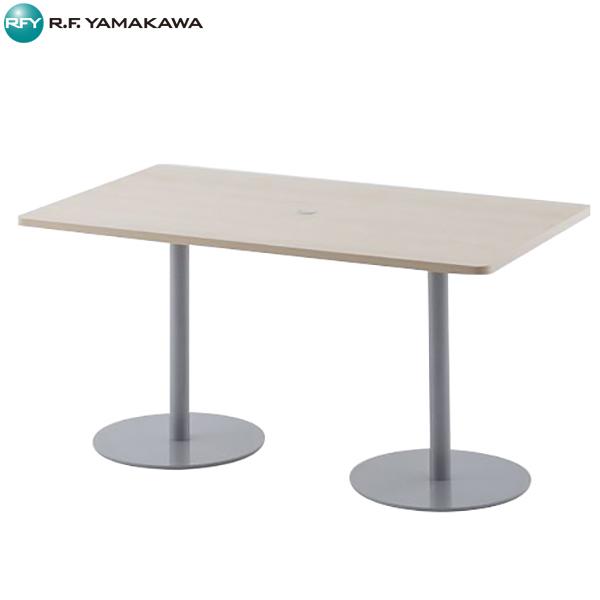 【代引不可】アール・エフ・ヤマカワ:応接ミーティングテーブルW1400×D800 ナチュラル RFRT-1480NA