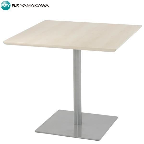 【代引不可】アール・エフ・ヤマカワ:リフレッシュテーブル スクエア W800xD800 ナチュラル RFRT-800SN