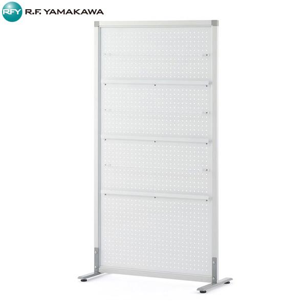 【代引不可】アール・エフ・ヤマカワ:シンプルスクリーン W800 パンチ ホワイト (アジャスター仕様) RFSCR-PWH