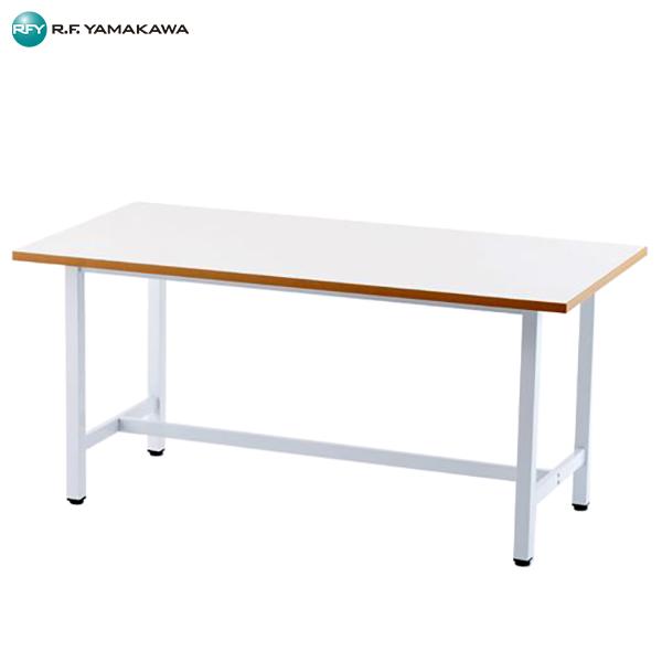 【法人限定】アール・エフ・ヤマカワ:作業台 W1500xD750 ホワイト RFSGD-1575 工場