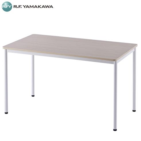 【代引不可】アール・エフ・ヤマカワ:RFシンプルテーブル W1200xD700 ナチュラル RFSPT-1270NA