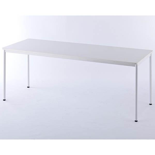 【代引不可】アール・エフ・ヤマカワ:RFシンプルテーブル W1800xD700 ホワイト RFSPT-1870WH