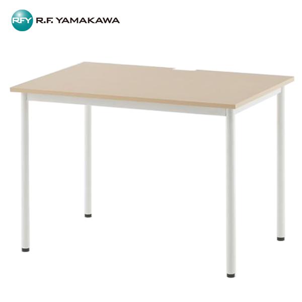 【代引不可】アール・エフ・ヤマカワ:SHシンプルテーブル W1000xD700 ナチュラル SHST-1070NA