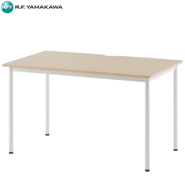 【代引不可】アール・エフ・ヤマカワ:SHシンプルテーブル W1200xD700 ナチュラル SHST-1270NA