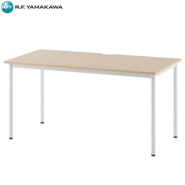 【代引不可】アール・エフ・ヤマカワ:SHシンプルテーブル W1400xD700 ナチュラル SHST-1470NA