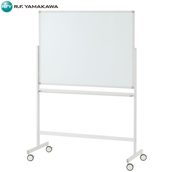 【法人限定】アール・エフ・ヤマカワ:ホワイトボード1200×900 片面 ホワイト SHWB-1290ASWH2L