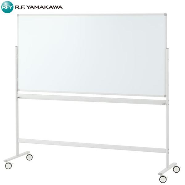【代引不可】アール・エフ・ヤマカワ:ホワイトボード1800×900 片面 ホワイトホーロータイプ SHWBH-1890ASWH2L