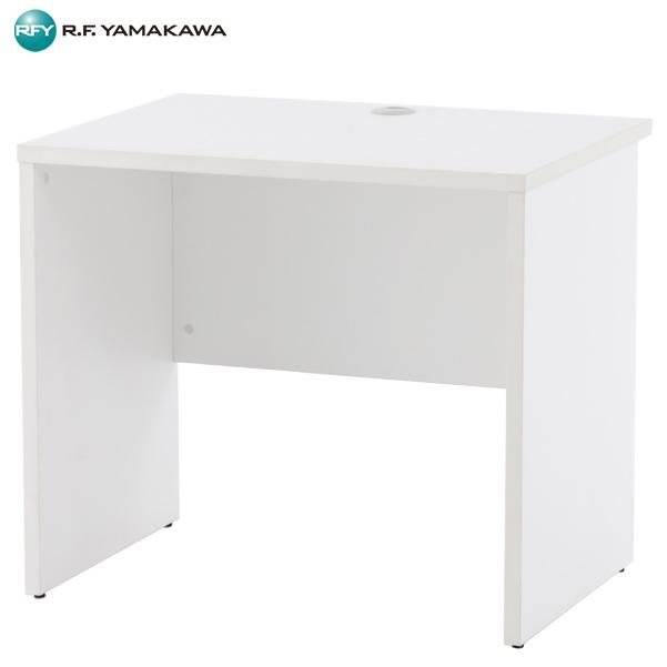 【法人限定】アール・エフ・ヤマカワ:ノルム 木製デスク2 W800xD600 ホワイト Z-RFPLD-0860W2