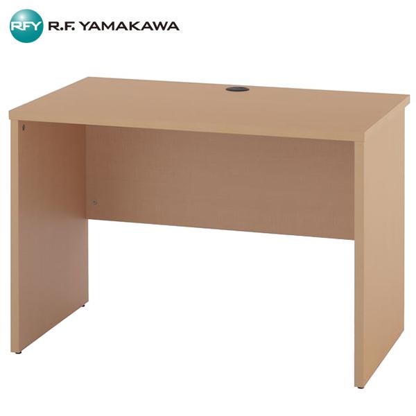 【法人限定】アール・エフ・ヤマカワ:ノルム 木製デスク2 W1000xD600 ナチュラル Z-RFPLD-1060NA2