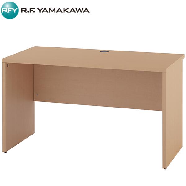 【法人限定】アール・エフ・ヤマカワ:ノルム 木製デスク2 W1200xD600 ナチュラル Z-RFPLD-1260NA2