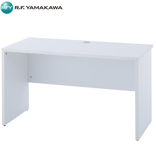 【法人限定】アール・エフ・ヤマカワ:ノルム 木製デスク2 W1200xD600 ホワイト Z-RFPLD-1260W2