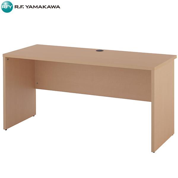 【法人限定】アール・エフ・ヤマカワ:ノルム 木製デスク2 W1400xD600 ナチュラル Z-RFPLD-1460NA2