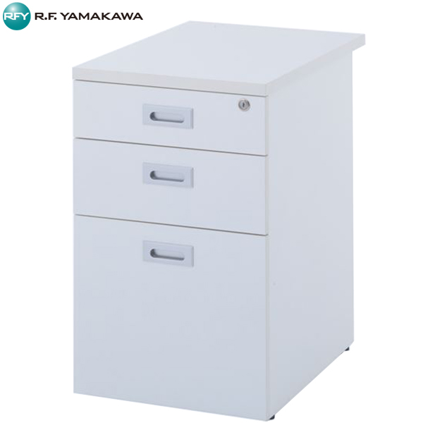 【法人限定】アール・エフ・ヤマカワ:ノルム 脇机 W420xD600 ホワイト Z-RFSD-600W