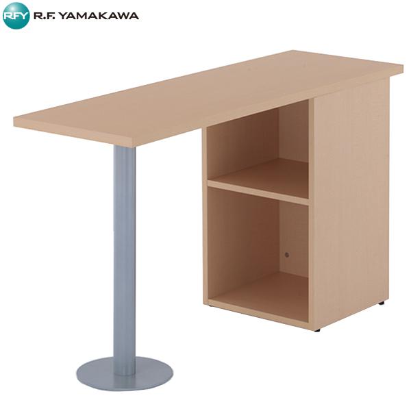 【法人限定】アール・エフ・ヤマカワ:ノルム サイドテーブル W1200xD400 ナチュラル Z-RFST-1240NA