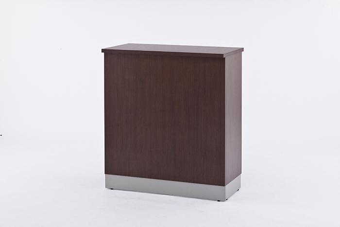 【代引不可】アール・エフ・ヤマカワ:ノルム ハイカウンター W900xD450 ダーク Z-SHHC-900DB
