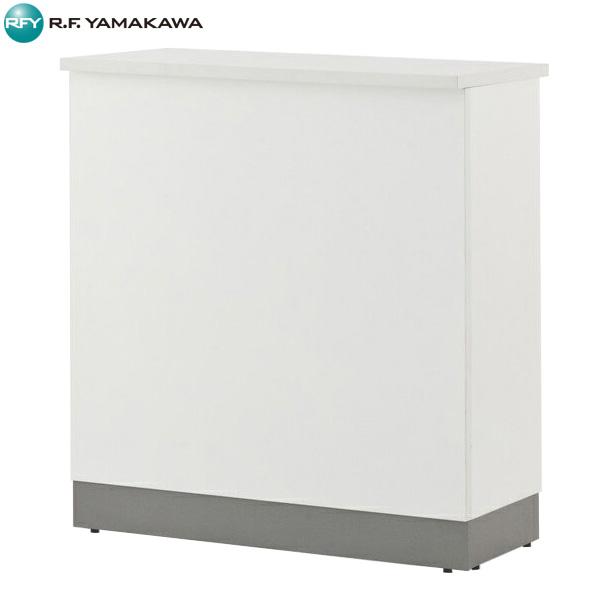 【代引不可】アール・エフ・ヤマカワ:ノルム ハイカウンター W900xD450 ホワイト Z-SHHC-900WH
