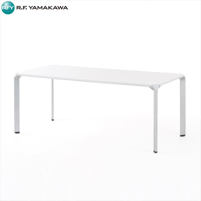【代引不可】アール・エフ・ヤマカワ:スパイダーテーブル W1800 ホワイト Z-SHMLT-18WH