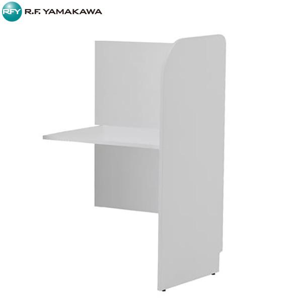 【法人限定】アール・エフ・ヤマカワ:[親]PCブース 増連オプション ホワイト 背板あり ホワイト Z-SHPCB-70ADBPWH