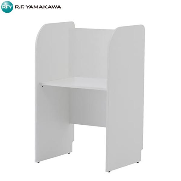 【代引不可】アール・エフ・ヤマカワ:[親]PCブース 基本 ホワイト 背板あり  ホワイト Z-SHPCB-70BPWH