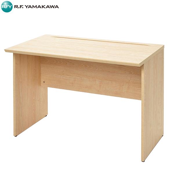 【法人限定】アール・エフ・ヤマカワ:RF木製デスク W1000×D600 ナチュラル RFWD-1060NA