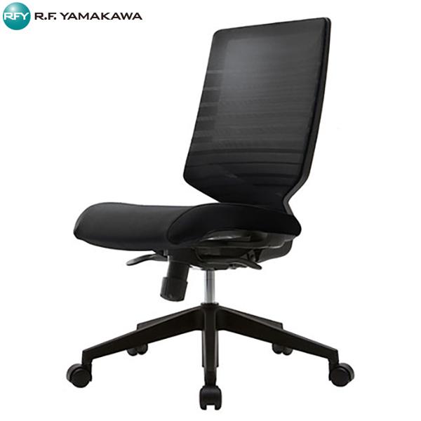 【代引不可】アール・エフ・ヤマカワ:T30チェア ブラック  FHTN302RF004