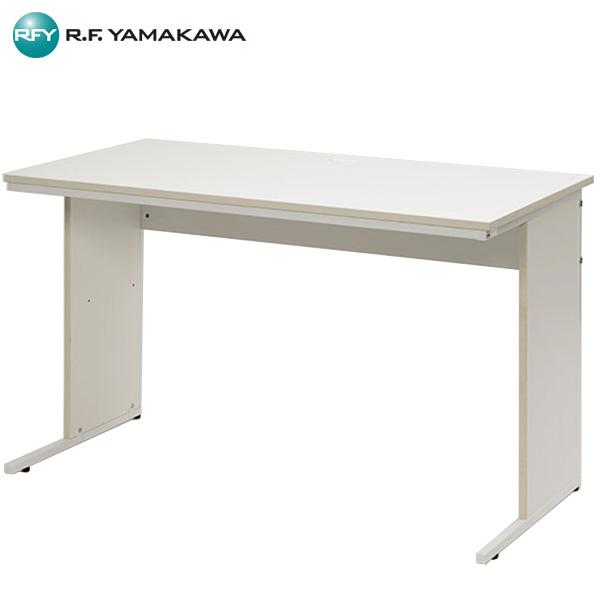 【法人限定】アール・エフ・ヤマカワ:ワーキングデスクW1200xD600 ホワイト GZWD-1260WH