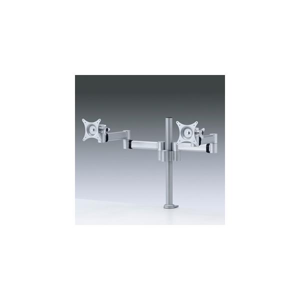 【代引不可】サンワサプライ:水平多関節液晶モニターアーム(2面) CR-LA902N