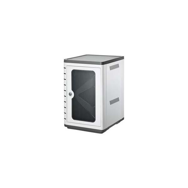 【代引不可】サンワサプライ:スマートフォン充電キャビネット(10台収納) CAI-CAB33W