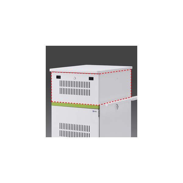 【代引不可】サンワサプライ:タブレット収納保管庫用追加収納ボックス(22台収納タイプ用) CAI-CABBOX22